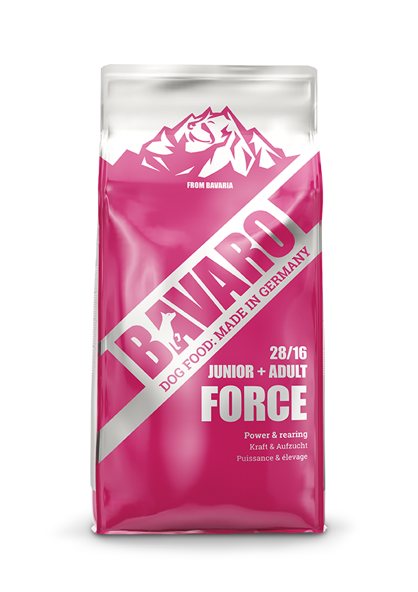 bavaro dogfood hundefutter force